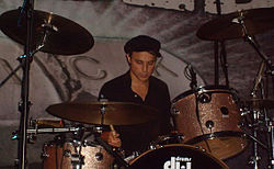 Isaac Carpenter drummer