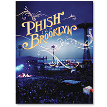 Phish Live in Brooklyn DVD