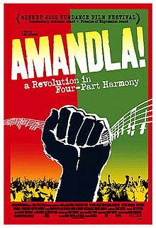 Amandla A Revolution in Four Part Harmony