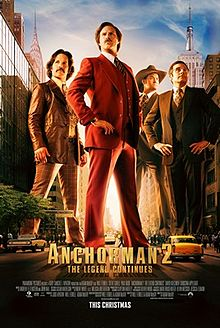 Anchorman 2 The Legend Continues