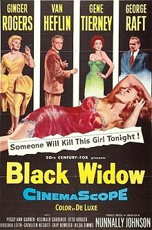 Black Widow 1954 film