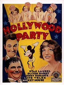 Hollywood Party 1934 film