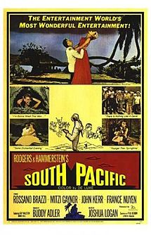 South Pacific 1958 film