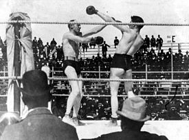 The Corbett Fitzsimmons Fight