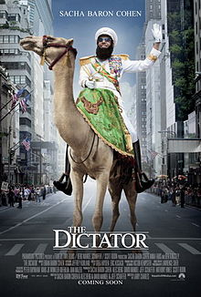 The Dictator 2012 film