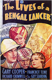 The Lives of a Bengal Lancer film