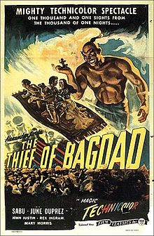 The Thief of Bagdad 1940 film