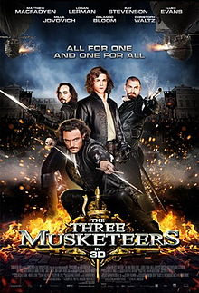 The Three Musketeers 2011 film