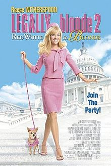 Legally Blonde 2 Red White Blonde