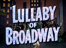 Lullaby of Broadway film