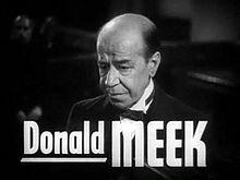 Donald Meek