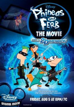 Phineas and Ferb the Movie Across the 2nd Dimension