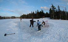 Pond Hockey film