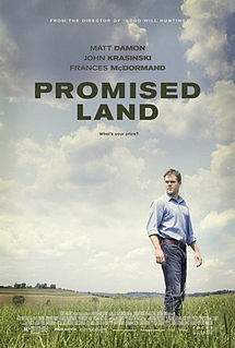 Promised Land 2012 film