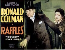 Raffles 1930 film