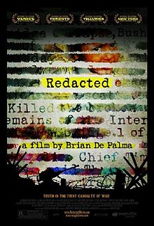 Redacted film