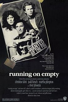 Running on Empty 1988 film