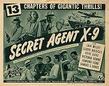 Secret Agent X 9 1945 serial