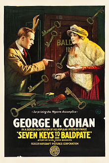 Seven Keys to Baldpate 1917 film