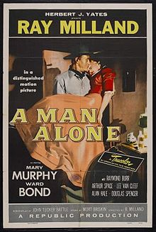 A Man Alone film