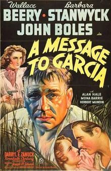 A Message to Garcia 1936 film