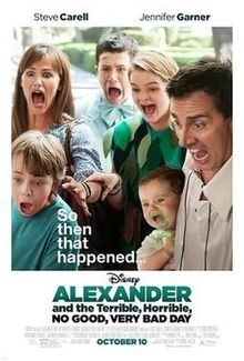 Alexander and the Terrible Horrible No Good Very Bad Day film