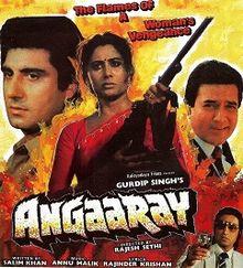 Angaaray 1986 film