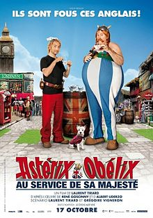 Asterix and Obelix God Save Britannia