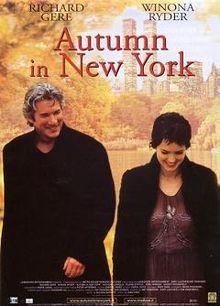 Autumn in New York film