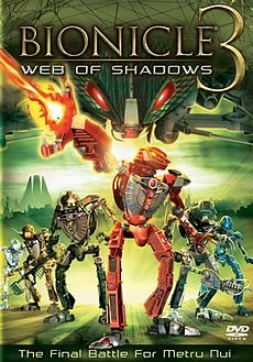 Bionicle 3 Web of Shadows