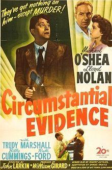 Circumstantial Evidence 1945 film