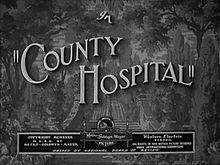 County Hospital 1932 film