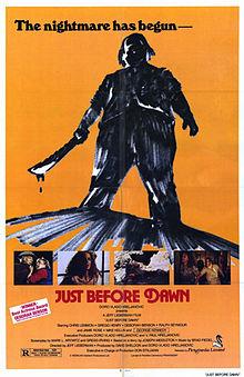 Just Before Dawn 1981 film