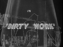 Dirty Work 1933 film
