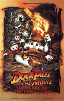DuckTales the Movie Treasure of the Lost Lamp