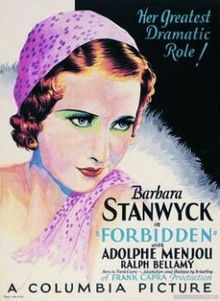 Forbidden 1932 film