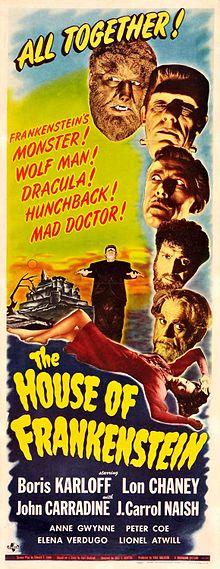 House of Frankenstein 1944 film