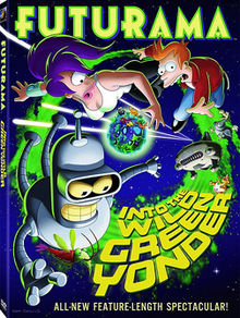 Futurama Into the Wild Green Yonder