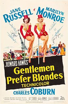 Gentlemen Prefer Blondes 1953 film