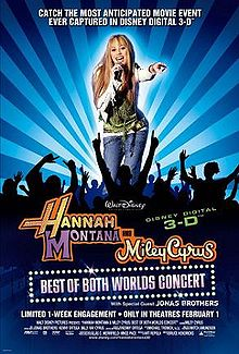 Hannah Montana and Miley Cyrus Best of Both Worlds Concert