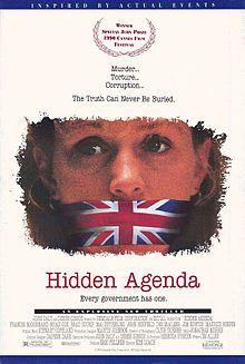 Hidden Agenda 1990 film