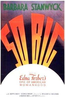 So Big 1932 film