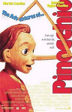The Adventures of Pinocchio 1996 film