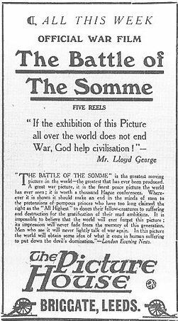 The Battle of the Somme film
