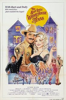 The Best Little Whorehouse in Texas film