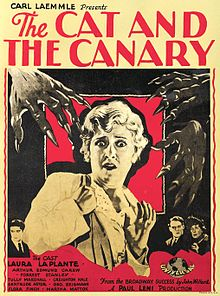 The Cat and the Canary 1927 film