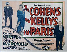 The Cohens and the Kellys in Paris
