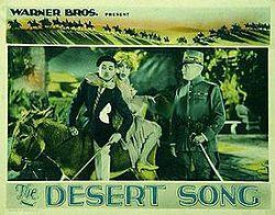 The Desert Song 1929 film