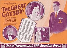 The Great Gatsby 1926 film