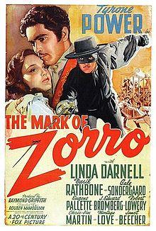The Mark of Zorro 1940 film
